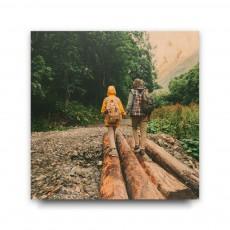 30x30 druk na drewnie