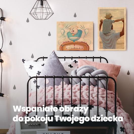 Wspaniałe obrazy do pokoju Twojego dziecka